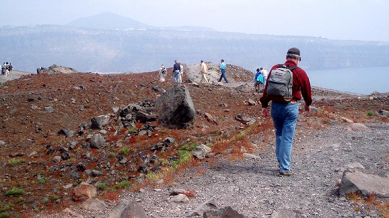 Ανοιχτή ξενάγηση στο ηφαίστειο για τους κατοίκους της Σαντορίνης