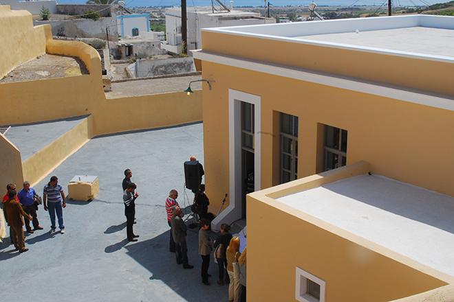 Το Κοινοτικό κτήριο Βόθωνα μετά την αποκατάσταση