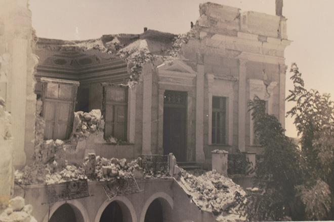 Αποτέλεσμα εικόνας για σεισμός ηφαίστειο σαντορίνη 9ης Ιουλίου 1956