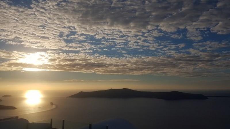 Φωτογραφία της εβδομάδας: Ήλιος στη θάλασσα…