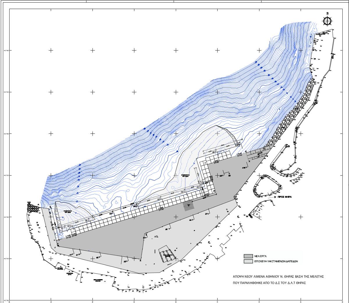Athinios new harbour plan