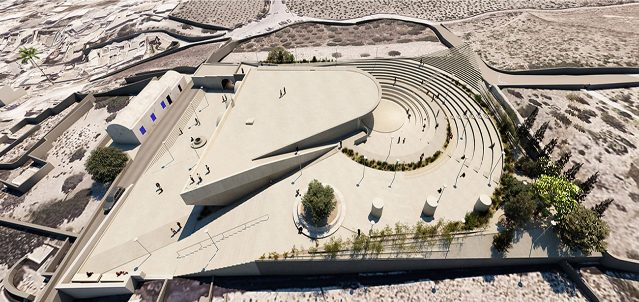 Cisterna Theater Park - Επανάχρηση δεξαμενής Μεγαλοχωρίου