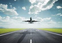 Αεροπλάνο την ώρα της απογείωσης
