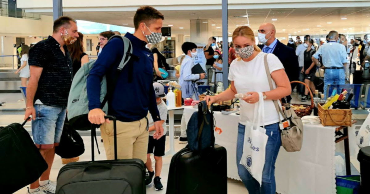 Αφίξεις σε αεροδρόμιο