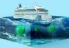 Κρουαζιερόπλοιο με νάρκες Covid στον βυθό