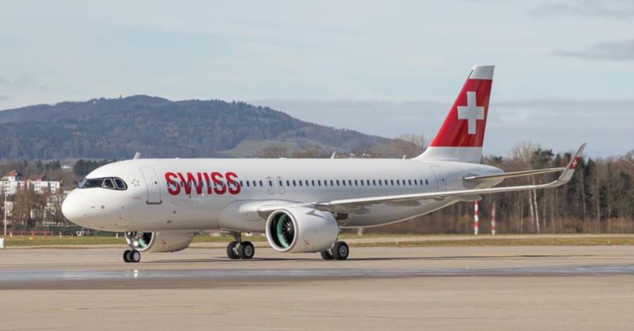 αεροσκάφος Α320neo της SWISS