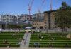 Μέτρα κοινωνικής αποστασιοποίησης σε πάρκο του Λονδίνου