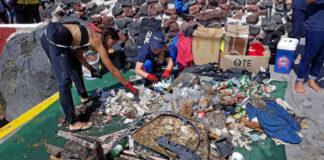 Αποτελέσματα υποβρύχιου καθαρισμού σε Αμμούδι