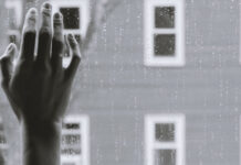 Χέρι στο τζάμι - Μοναξιά