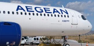 Α321neo της Aegean, στο αεροδρόμιο Ελ. Βενιζέλος