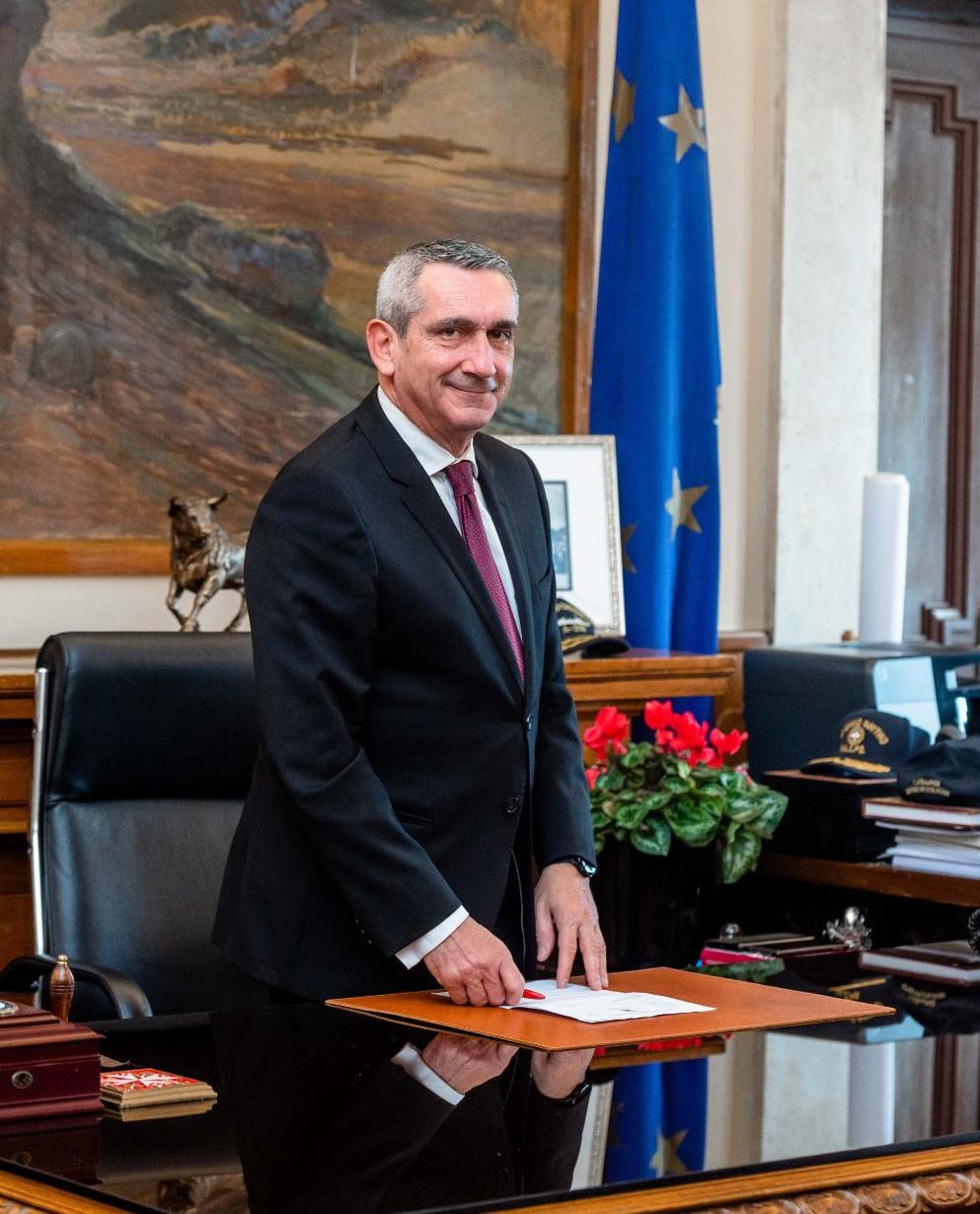 Γιώργος Χατζημάρκος - Περιφερειάρχης Ν. Αιγαίου