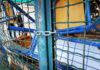 Κλειδωμένη καγκελόπορτα σε υπό κατάληψη σχολείο