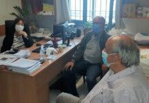 Συνάντηση στελεχών της Θηραϊκής Πολιτείας με την Αντιδήμαρχο Θήρας Σοφία Κίτσου