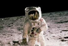Αστροναύτης στη Σελήνη