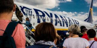 Ταξιδιώτες με Ryanair