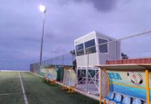 Δημοσιογραφικό θεωρείο στο γήπεδο των Φηρών