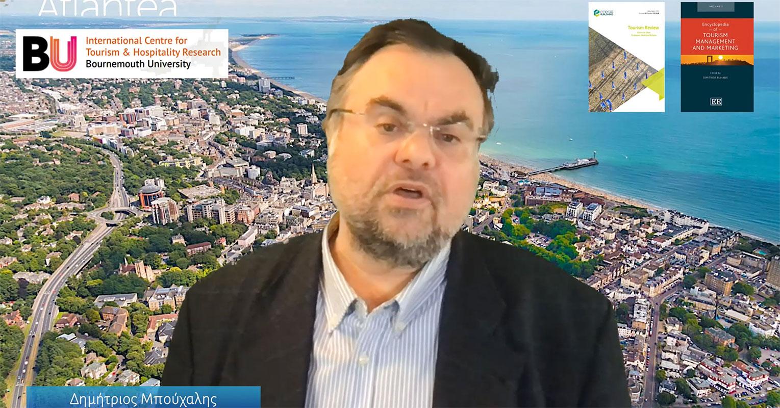 Ο Δημήτρης Μπούχαλης γαι τις προοπτικές του τουρισμού